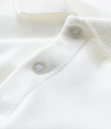 Baby Boys' Long-Sleeved Polo Shirt with Collar