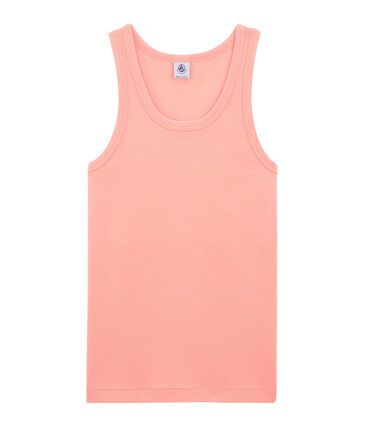 Women's sleeveless top Rosako pink