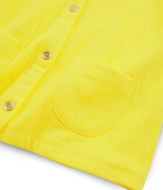 Girls' Cardigan Eblouis yellow
