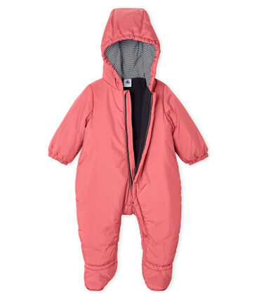 Unisex Babies' Snowsuit Cheek pink