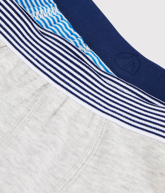 Boys' Pinstriped Boxer Shorts - 2-Piece Set . set