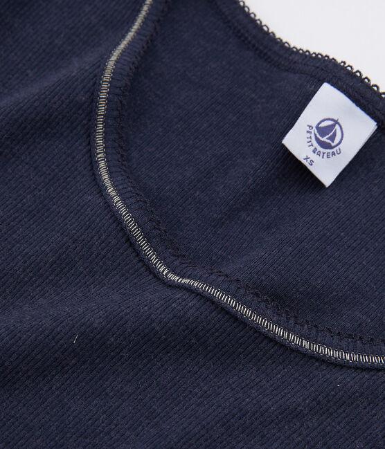 Women's Warm T-Shirt Smoking blue