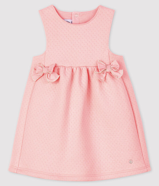 Baby girl's sleeveless dress Minois pink
