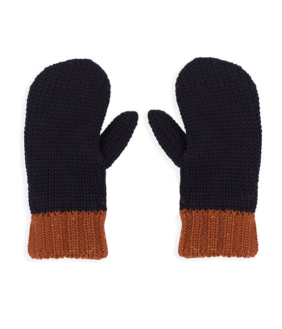 Boys' Mittens Smoking blue