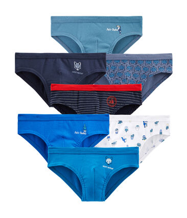 Surprise pack of 7 pairs of pants for boys