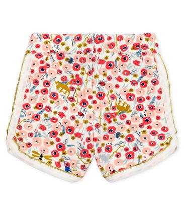 Baby girls' printed shorts