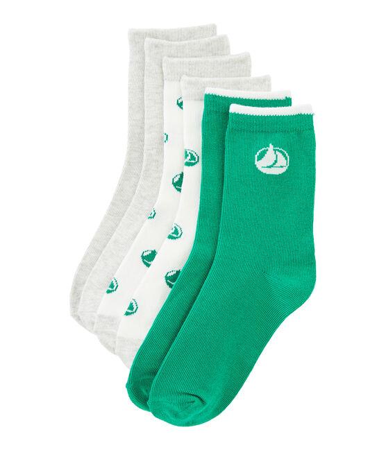 Set of 3 pairs of socks . set
