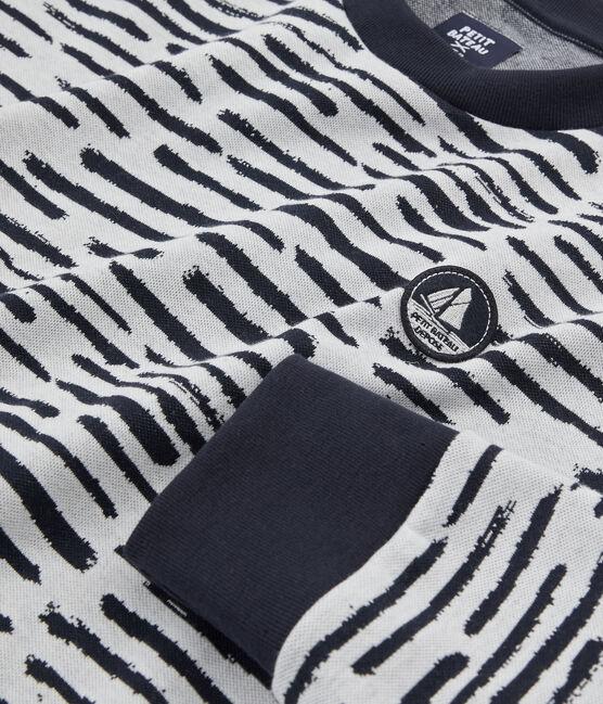 Sweatshirt in Collaboration with Jean Jullien MARSHMALLOW/DASH