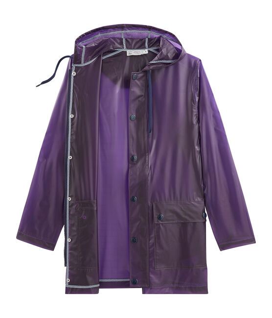 Women's Waxed Coat Real purple