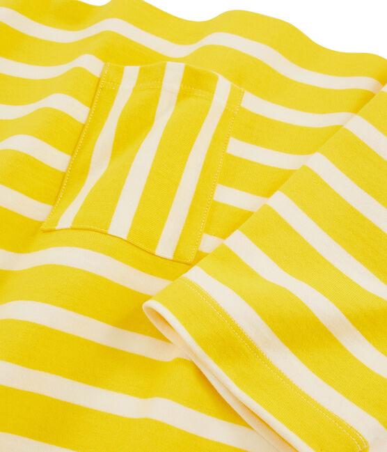Women's Dress Shine yellow / Marshmallow white