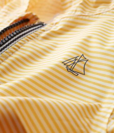 Unisex baby's striped windbreaker
