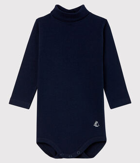 Baby's long-sleeved roll-neck bodysuit SMOKING