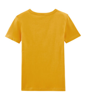 Women's Short-Sleeved Iconic T-Shirt Boudor yellow