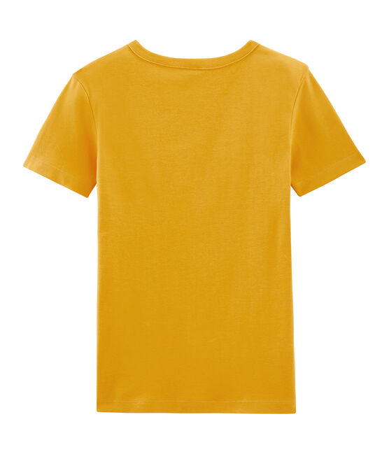 Women's Short-Sleeved Iconic T-Shirt Boudor yellow