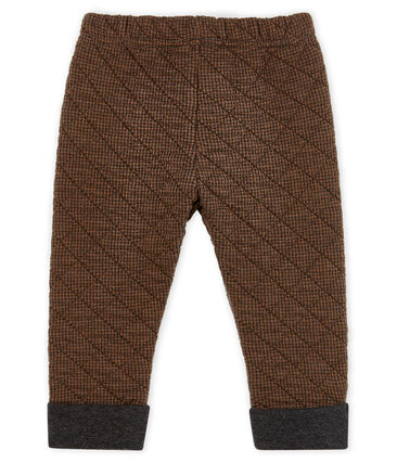 Baby Boys' Houndstooth Tube Knit Trousers