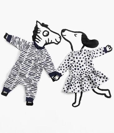 Baby Boys' Long Jumpsuit by Jean Jullien MARSHMALLOW/DASH