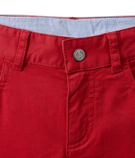 Boy coloured denim trousers Terkuit red