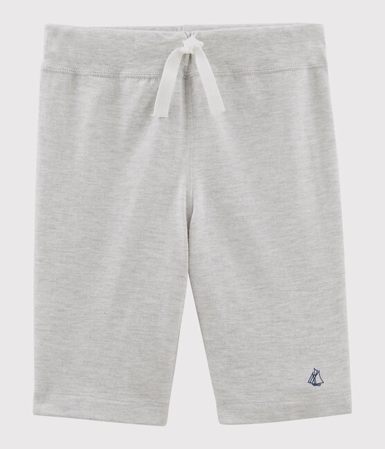 Boys' Jersey Bermuda Shorts Beluga grey