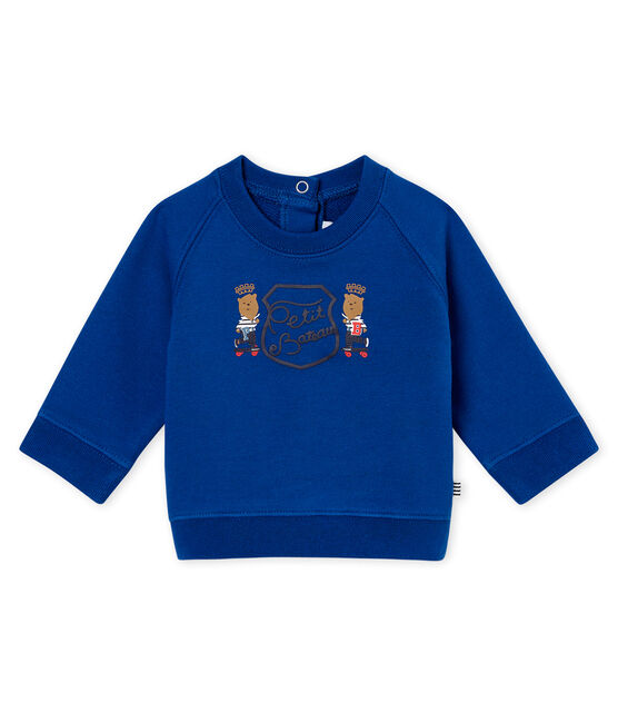 Baby boy's sweatshirt Limoges blue
