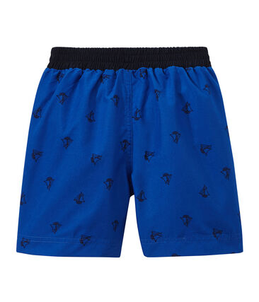 Boys' printed swim shorts