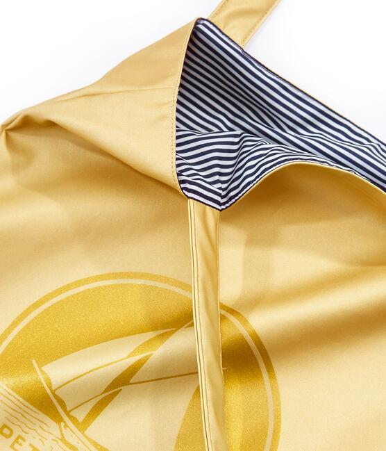 plain shopping bag Dore yellow
