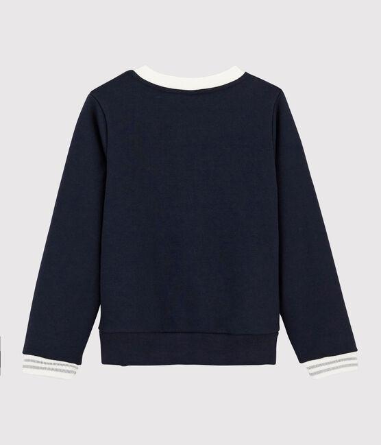 Girls' Sweatshirt Smoking blue