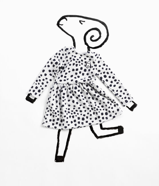 Dress Jean Jullien MARSHMALLOW/DOTTIES