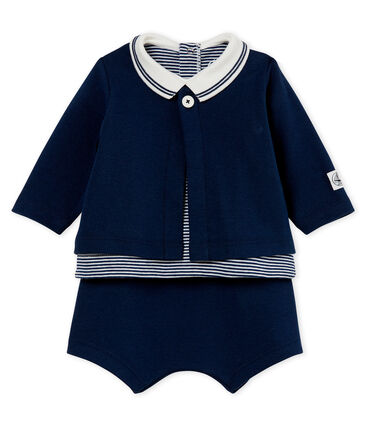 Baby boys' shorts and tee - 3-piece set