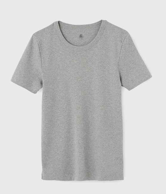 Men's short-sleeved T-shirt Subway grey