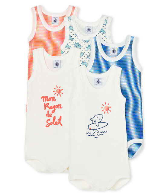 Baby Boys' Sleeveless Bodysuit - 2-Piece Set . set