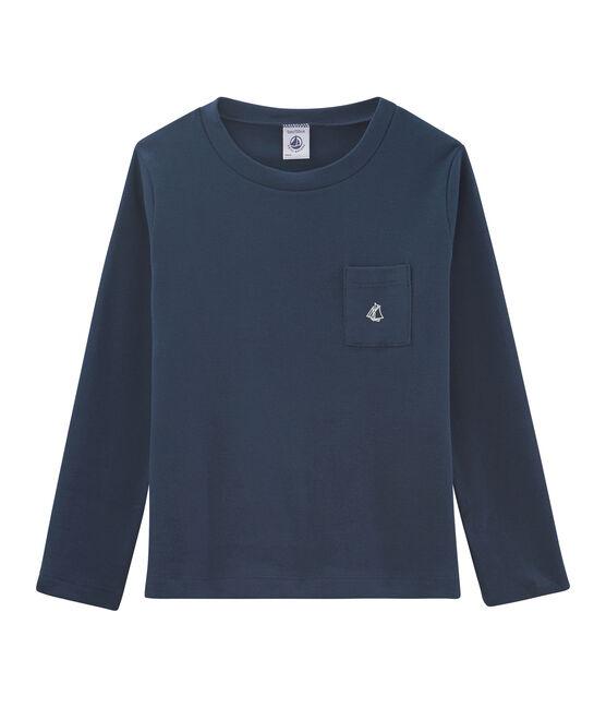 Boys' Long-Sleeved T-shirt Haddock blue