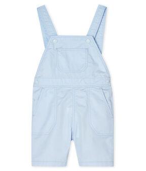 Baby Boys' Short Dungarees Fraicheur blue
