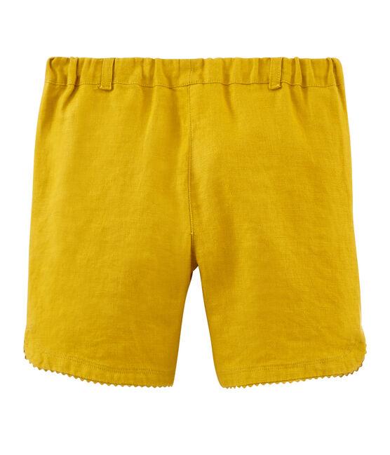 Girls' Shorts Bamboo yellow
