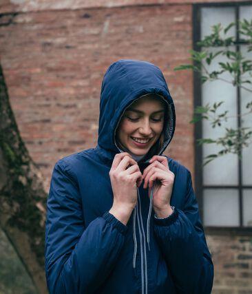 Unisex Warm Windbreaker Smoking blue