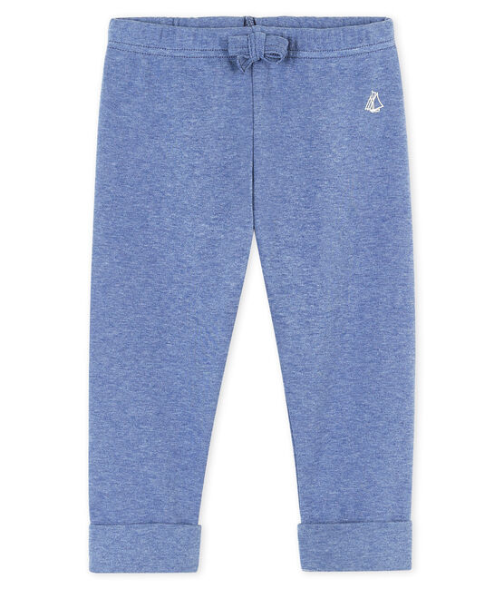 Baby boys' knit trousers Captain Chine blue