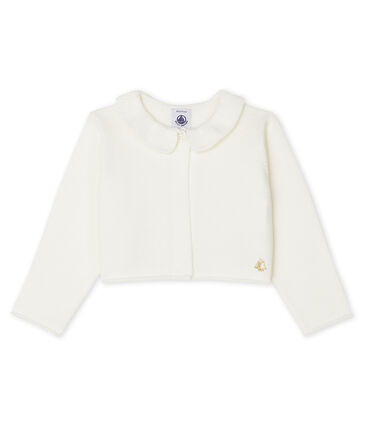 Baby Girls' Bolero Marshmallow white