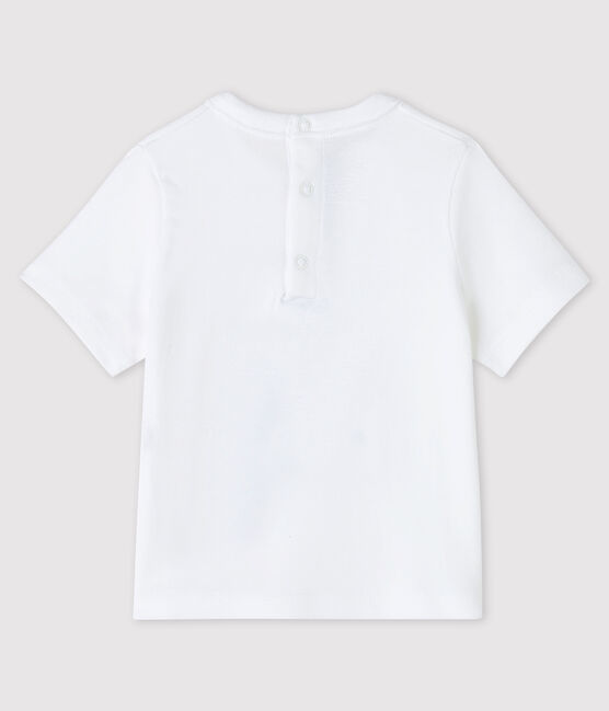 Baby boy's t-shirt Ecume white