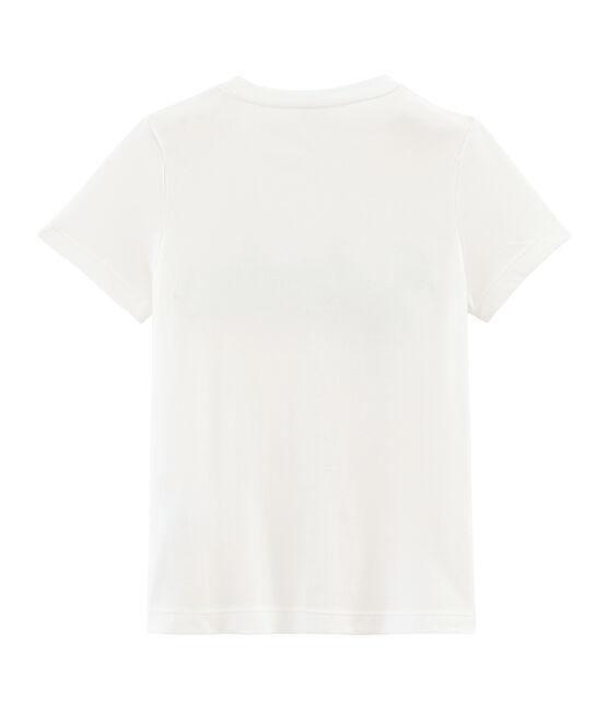Boys' Short-sleeved T-shirt Marshmallow white