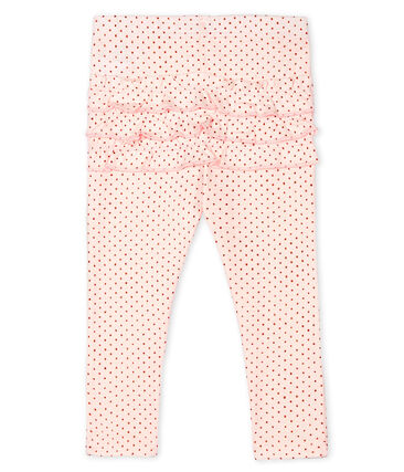 Baby Girls' Print Leggings Fleur pink / Copper pink