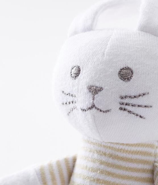 Babies' Jersey Bunny Comforter Perlin beige / Marshmallow white
