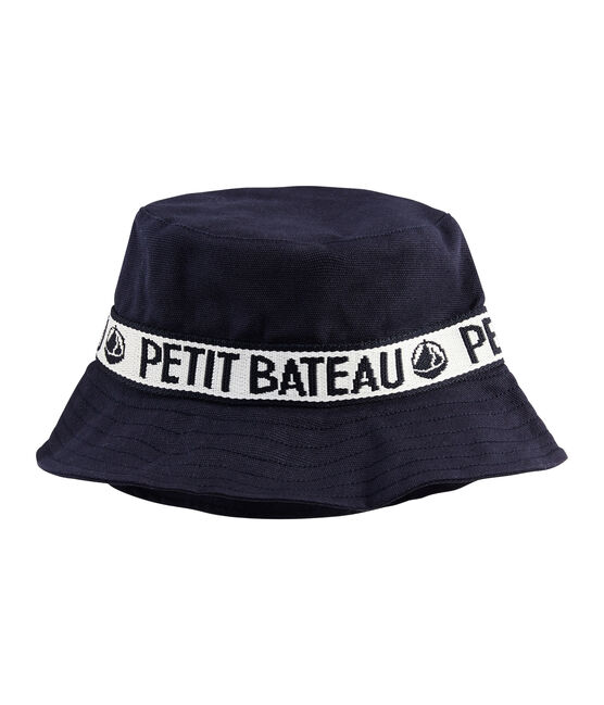 Twill bucket hat Smoking blue