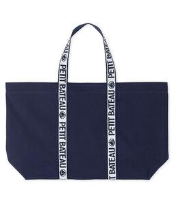 Logo Tote Bag Smoking blue