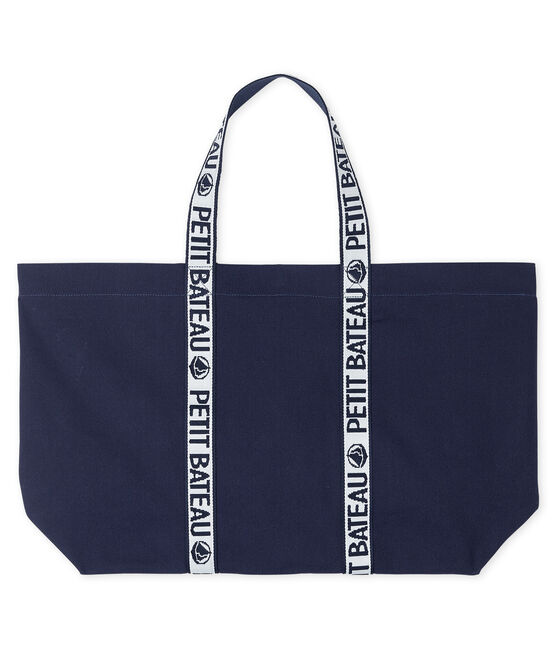 Logo Tote Bag Smoking blue