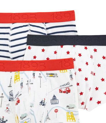 Boys' Boxer Shorts - 3-Piece Set