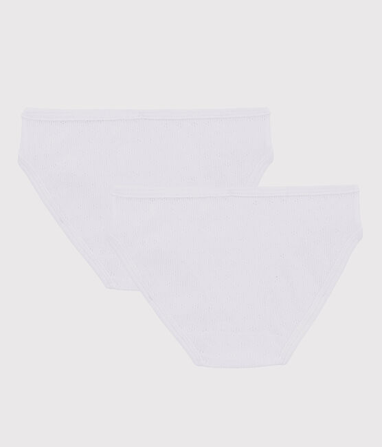 Girls' Openwork Knickers - 2-Pack . set