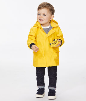 Baby boy's iconic raincoat Jaune yellow