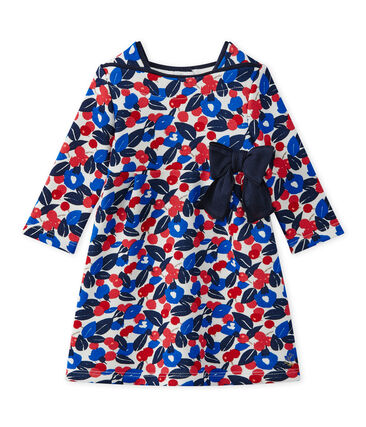 Baby girl's floral print dress