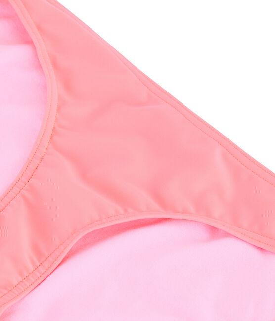 Women's Eco-Friendly Bikini Bottoms Fluo Rose pink