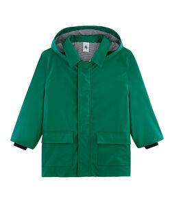 Unisex Children's Raincoat Ecology green