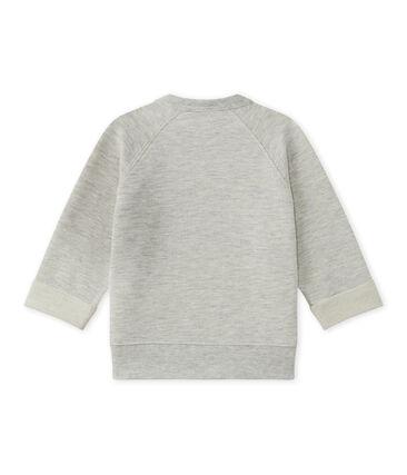 Baby boy's cotton fleece sweatshirt